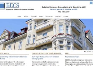 Building Envelope Consultants and Scientists, LLC Website