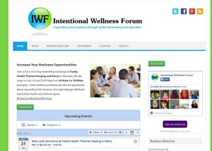 intentional wellness forum website