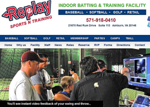 Replay Sports and Training Website