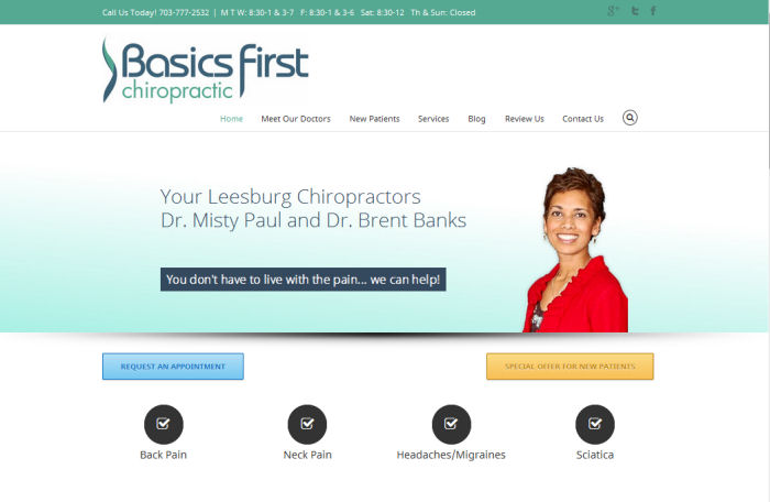 basics first chiropractic