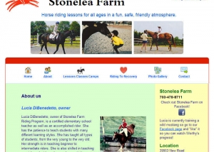 stonelea farm website