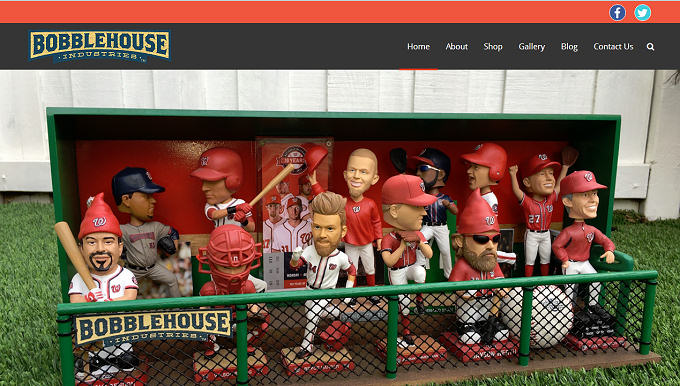 BobbleHouse Industries E-Commerce website