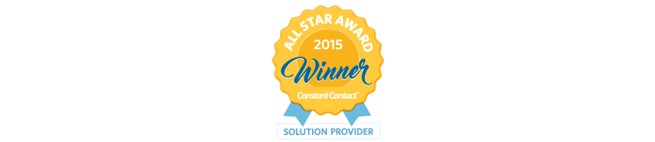 Constant Contact 2015 All Star Winner