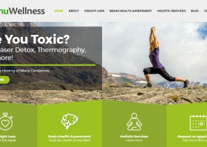 Renu Wellness website